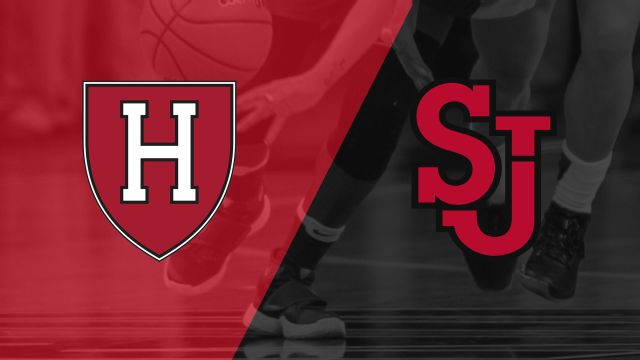 Harvard vs. St. John's (Second Round) (WNIT)