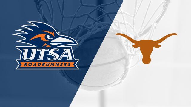 UTSA vs. #2 Texas (W Basketball)