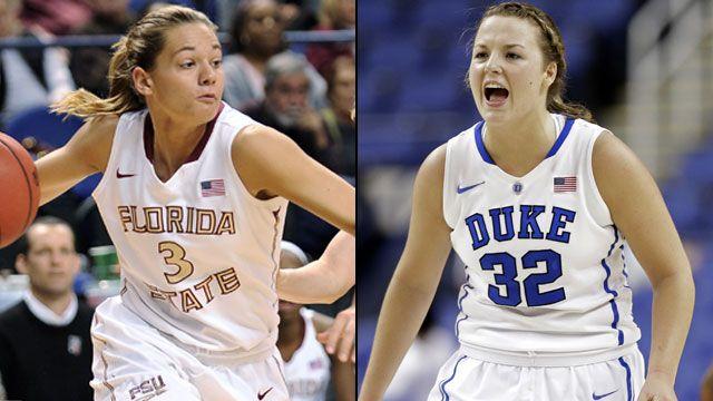 #23 Florida State vs. #6 Duke (Semifinal #1 - Outermarket): ACC Women's Basketball Tournament
