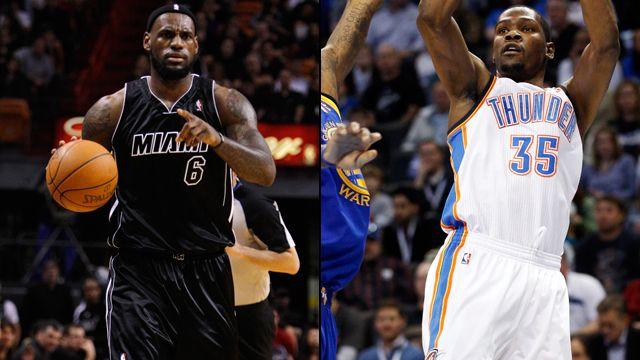 Miami Heat vs. Oklahoma City Thunder