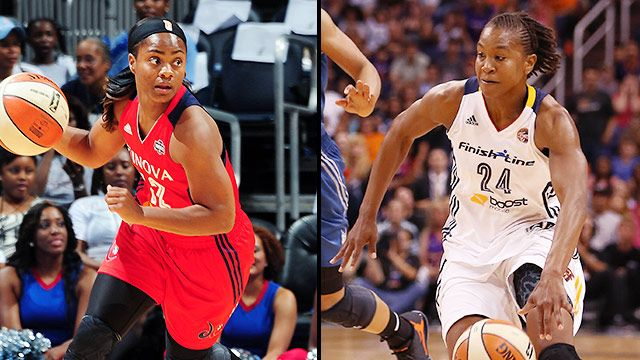 Washington Mystics vs. Indiana Fever (Conference Semifinal, Game 1)