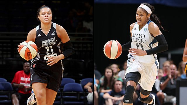 San Antonio Stars vs. Minnesota Lynx (Conference Semifinal, Game 1)