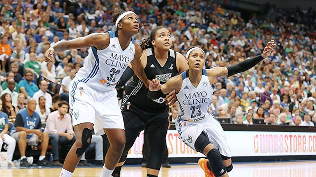 Minnesota Lynx vs. San Antonio Stars (Conference Semifinal, Game 2)