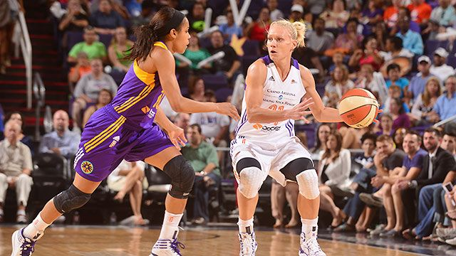 Phoenix Mercury vs. Los Angeles Sparks (Conference Semifinal, Game 2)