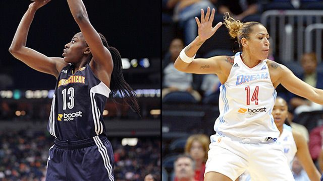 Connecticut Sun vs. Atlanta Dream