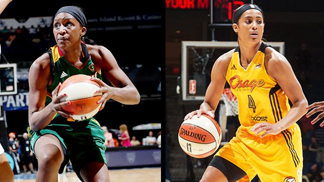 Seattle Storm vs. Tulsa Shock
