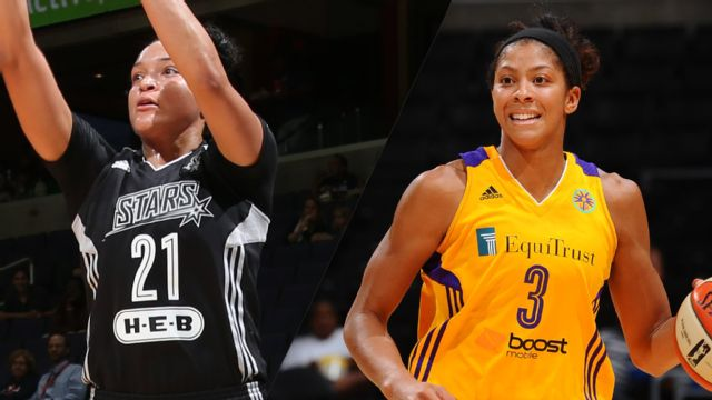 San Antonio Stars vs. Los Angeles Sparks