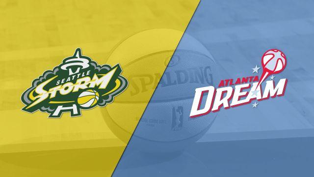 Seattle Storm vs. Atlanta Dream (First Round)