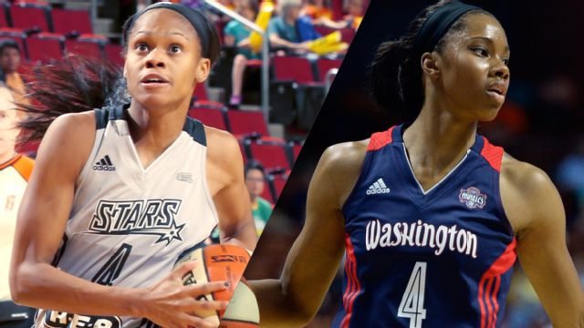 San Antonio Stars vs. Washington Mystics