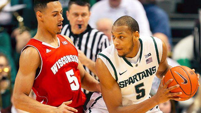 #22 Wisconsin vs. #10 Michigan State
