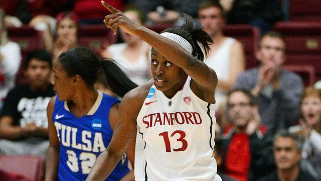 #16 Tulsa vs. #1 Stanford (First Round): 2013 NCAA Women's Basketball Championship