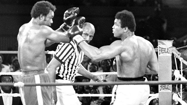 En Espa�ol - Muhammad Ali vs. George Foreman (re-air)