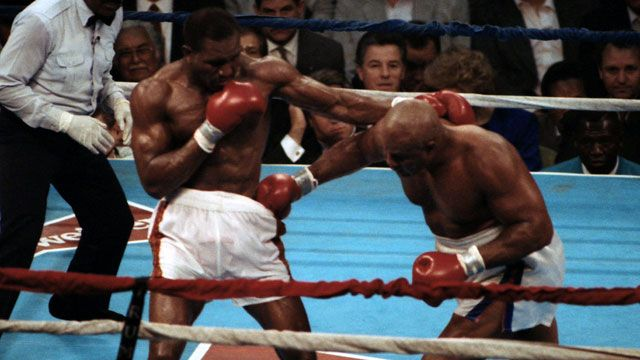 Evander Holyfield vs. George Foreman (re-air)