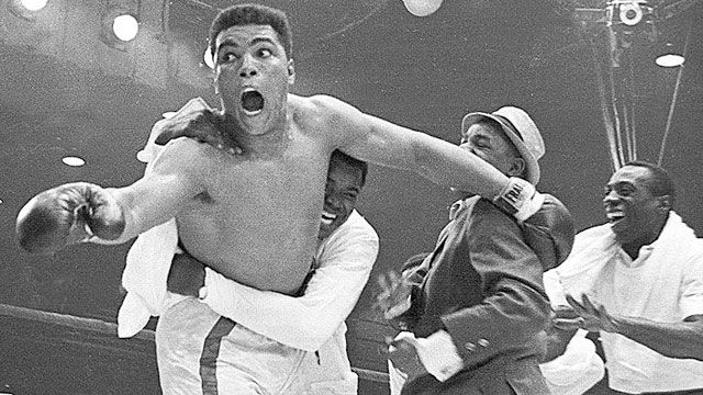 Cassius Clay I vs. Sonny Liston (re-air)