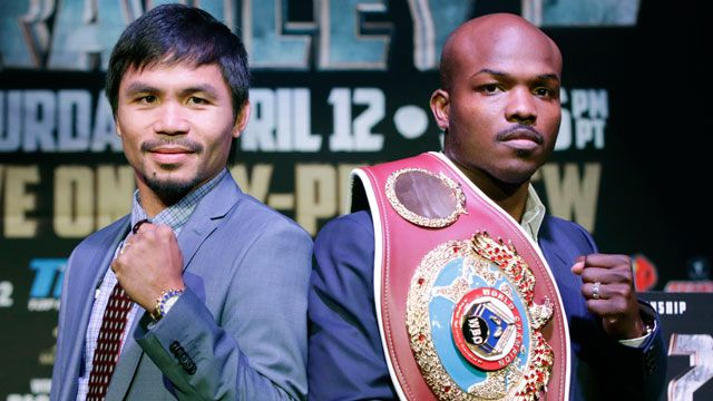 Manny Pacquiao vs. Timothy Bradley Weigh-In