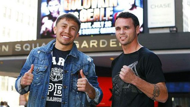 Golovkin vs. Geale Official Weigh-IN
