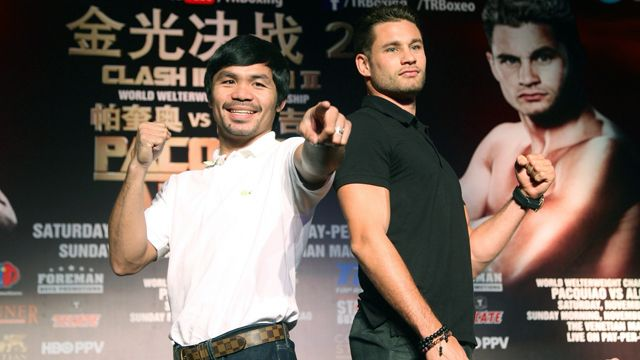 Manny Pacquiao vs. Chris Algieri News Conference