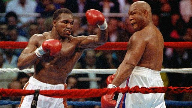 In Spanish - Evander Holyfield vs. George Foreman (re-air)