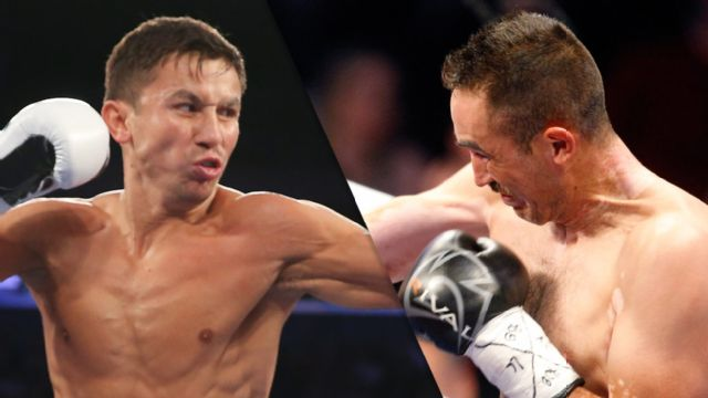Gennady Golovkin vs. Marco Antonio Rubio Official Weigh-In