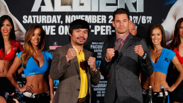 Manny Pacquiao vs. Chris Algieri - Press Conference