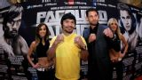 Manny Pacquiao vs. Chris Algieri - Weigh-In