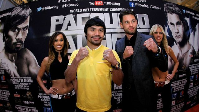 Manny Pacquiao vs. Chris Algieri - Weigh-In