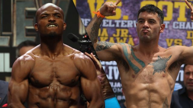 Timothy Bradley Jr. vs. Diego Chaves - Official Weigh-In