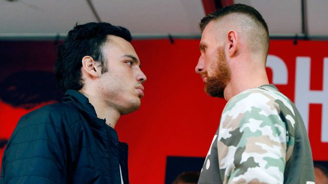 Julio Cesar Chavez Jr vs Andrzej Fonfara - Official Weigh-In