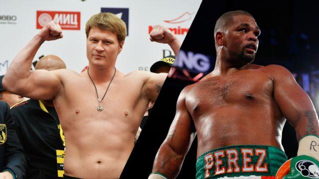 Alexander Povetkin vs. Mike Perez