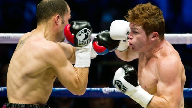 "In Spanish - Saul ""Canelo"" Alvarez vs. Kermit Cintron (re-air)"