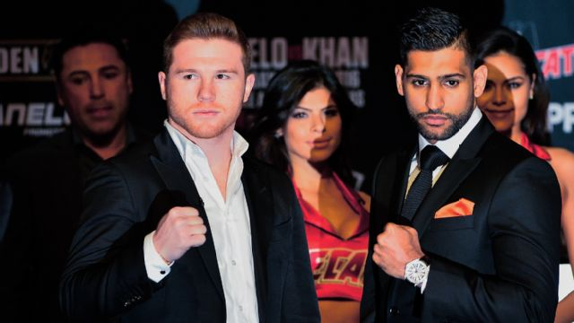 Canelo Alvarez vs. Amir Khan - Official Press Conference