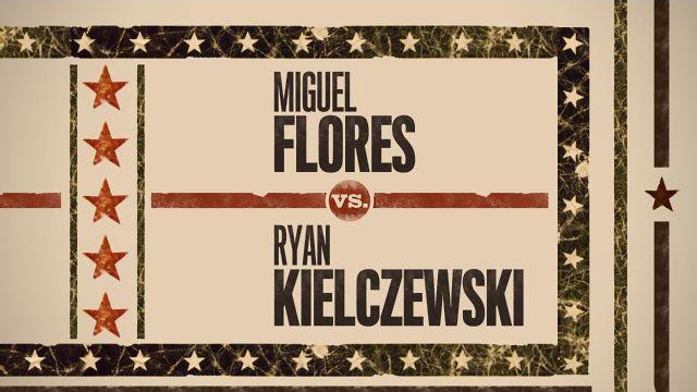 In Spanish - Miguel Flores vs. Ryan Kielczewski