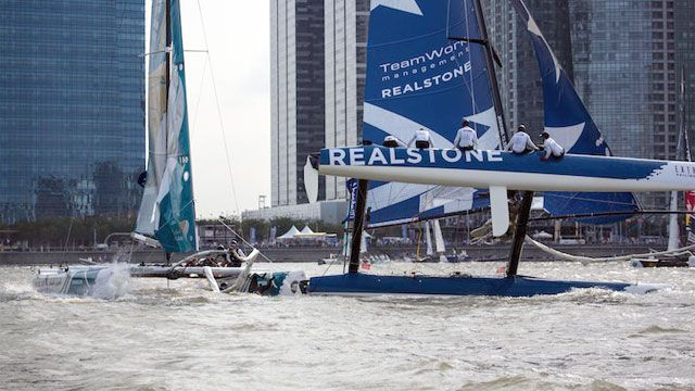 Extreme Sailing Series- Act 5: Cardiff, Uk