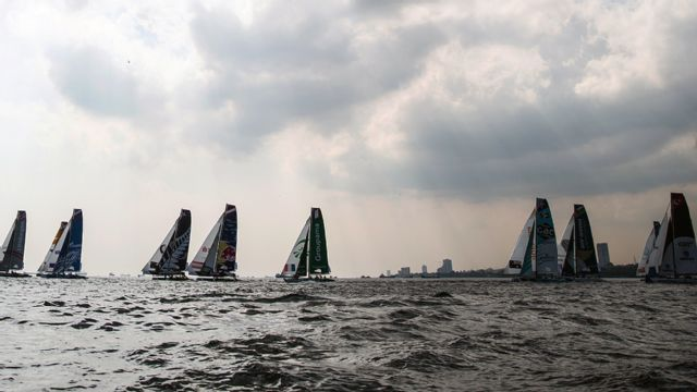 Extreme Sailing Series: Cardiff