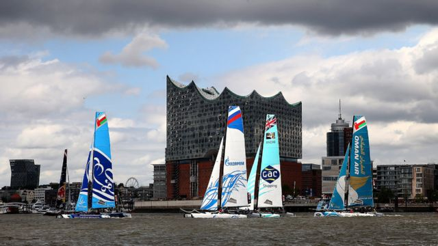 Extreme Sailing Series: Hamburg