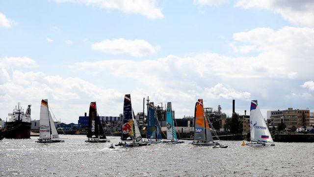 Extreme Sailing Series: St. Petersburg