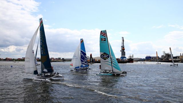 Extreme Sailing Series: St. Petersburg