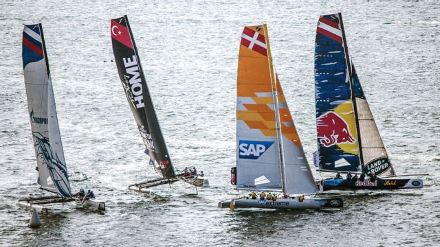 Extreme Sailing Series: Sydney
