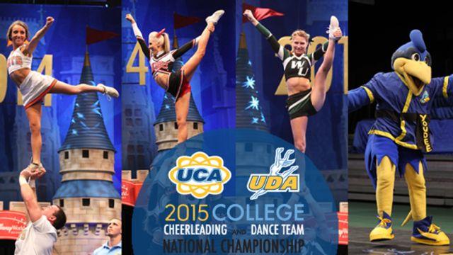 College Cheerleading - Partner Stunt & Mascot Championships