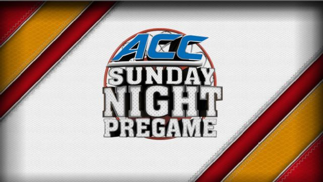 ACC Sunday Night Pregame