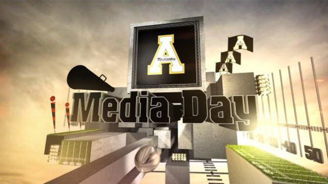 Appalachian State Football Media Day