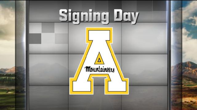 Appalachian State National Signing Day