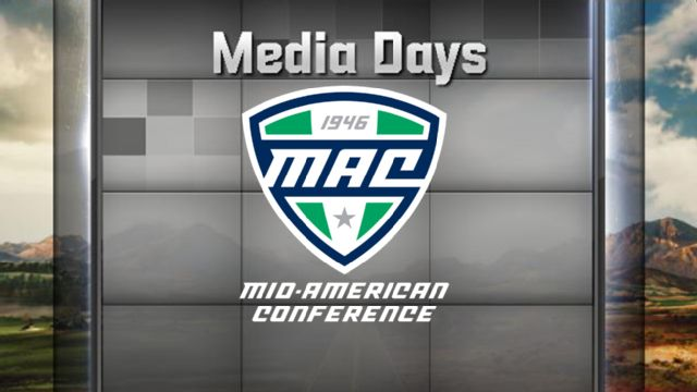 2016 Mid-American Conference Football Media Day