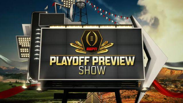 ESPNU College Football Playoff Preview Show