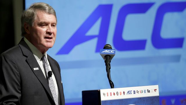 ACC Men's Basketball Media Day: Commissioner Swofford