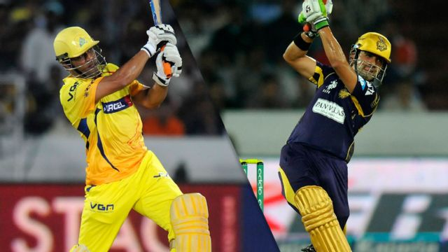 Chennai Super Kings vs. Kolkata Knight Riders (Final)