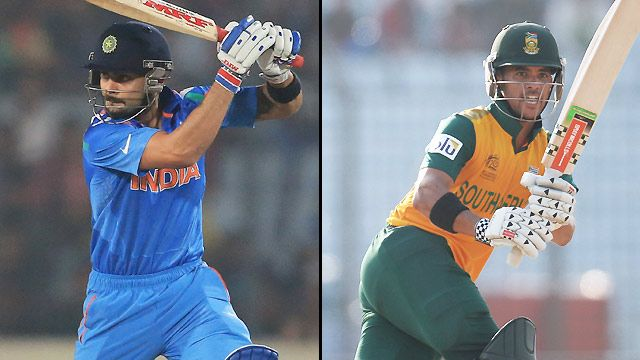 India vs. South Africa (Semifinal #2)