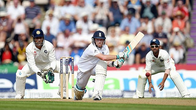 England vs. India (Test Match Day 4)