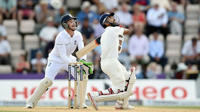 England vs. India (Test Match Day 5)