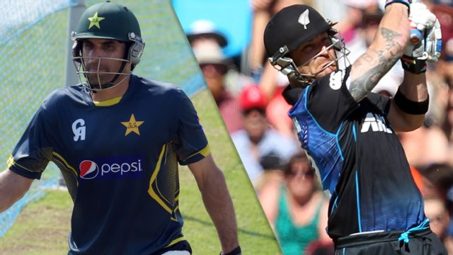 Pakistan vs. New Zealand (1st ODI)